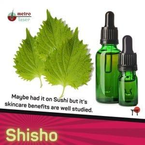 Shisho in Skincare